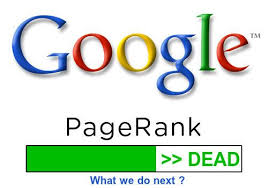 Google PageRank Is Dead > What we do next ?