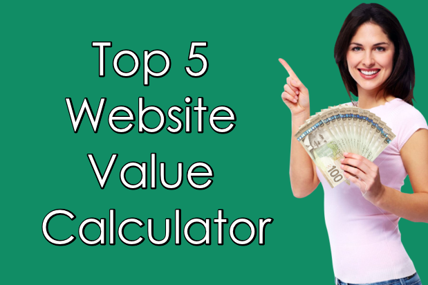 Top 5 Website Value Calculator