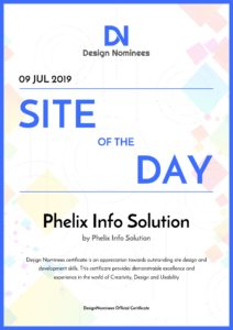Site of The Day Award