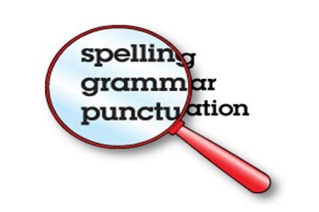Check for Spelling - Common Design Mistakes