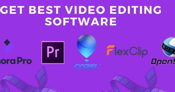 Get Best Video Editing Software