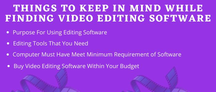 How to Find Best Video Editing Software
